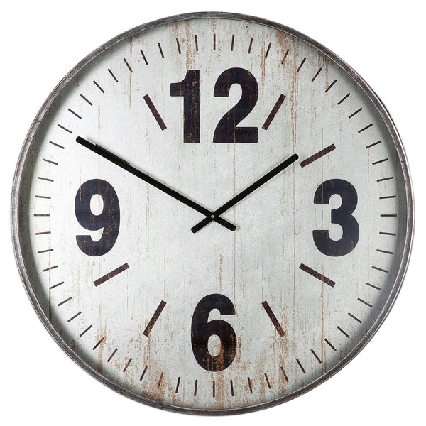 Uttermost Marino Oversized Wall Clock 06432 - BathVault