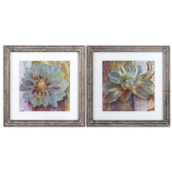 Uttermost Sublime Truth Floral Art, Set/2 34036 - BathVault