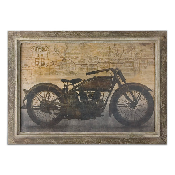 Uttermost Ride Framed Art 51086 - BathVault