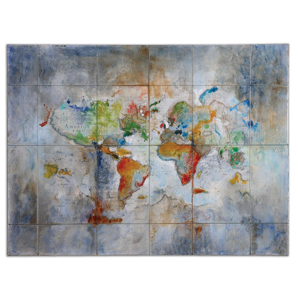 Uttermost World Of Color Modern Art 34256 - BathVault