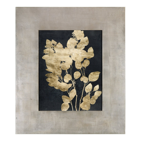 Uttermost Custom Postage Leaves Gold Foil Print 41569 - BathVault