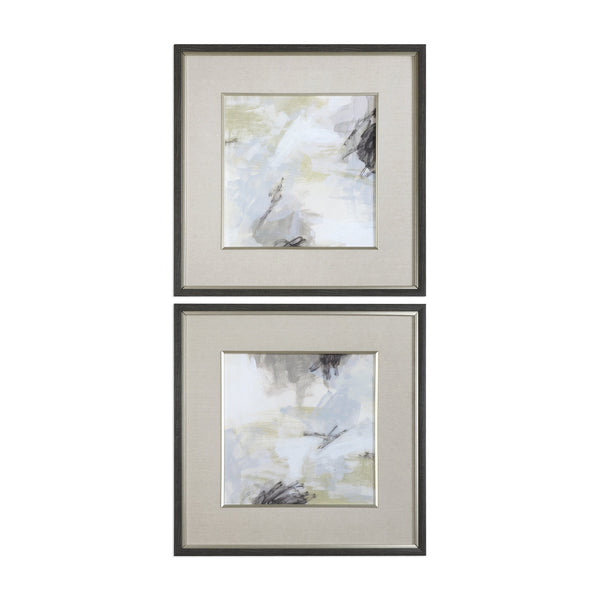 Uttermost Abstract Vistas Framed Prints S/2 33673 - BathVault