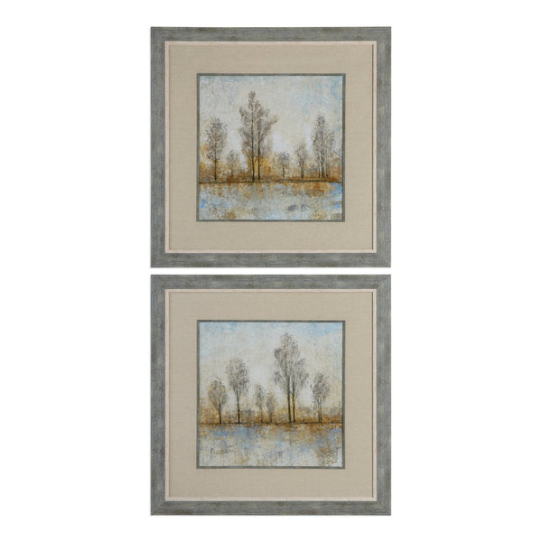 Uttermost Quiet Nature Landscape Prints S/2 33674 - BathVault