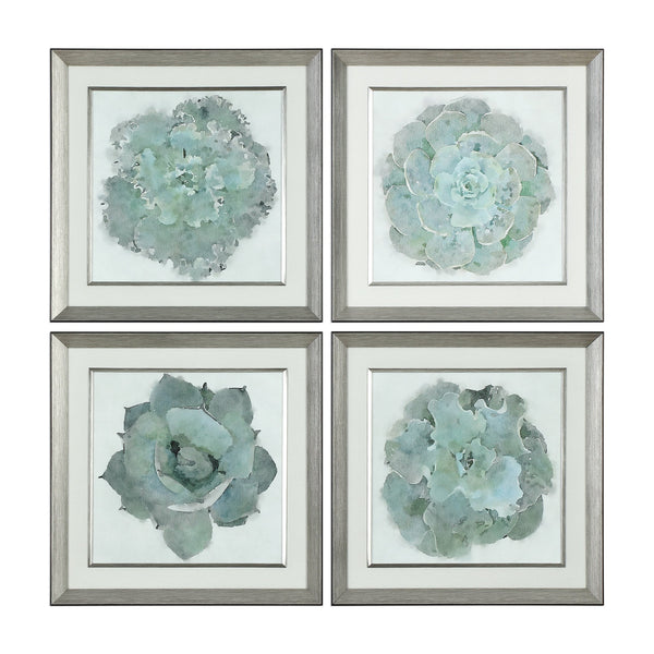 Uttermost Natural Beauties Botanical Prints S/4 33679 - BathVault