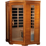 Golden Designs 2 Person Dynamic Infrared Sauna LeMans Edition DYN-6225-02 - BathVault