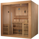 Golden Designs 4-6 Person Traditional Steam Sauna Osla Edition GDI-7689-01 - BathVault