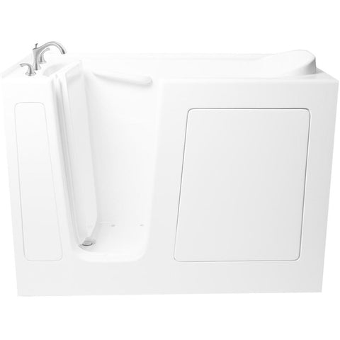 "ARIEL Walk In Bathtub Whirpool 51"" x 26"" x 38"" EZWT-2651-DUAL - BathVault"
