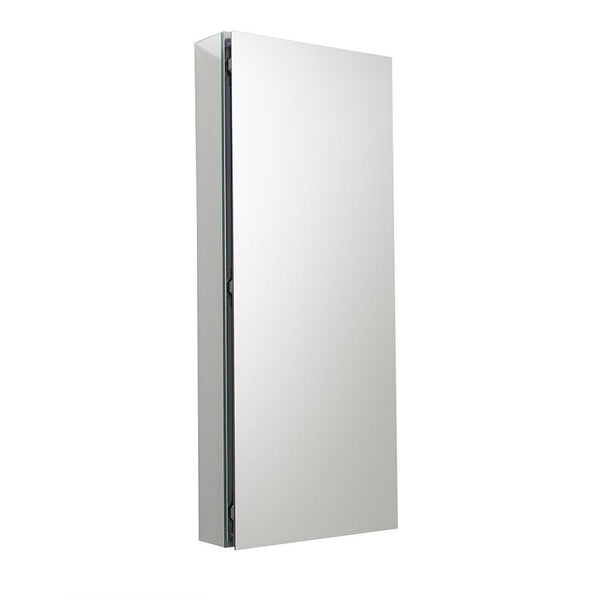 "Fresca 15"" Wide x 36"" Tall Bathroom Medicine Cabinet w/ Mirrors - BathVault"