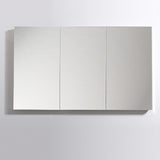 "Fresca 60"" Wide x 36"" Tall Bathroom Medicine Cabinet w/ Mirrors - BathVault"