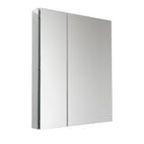 "Fresca 30"" Wide x 36"" Tall Bathroom Medicine Cabinet w/ Mirrors - BathVault"