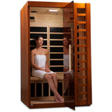 Golden Designs 2 Person Near Zero EMF Far IR Sauna GDI-6264-01 - BathVault