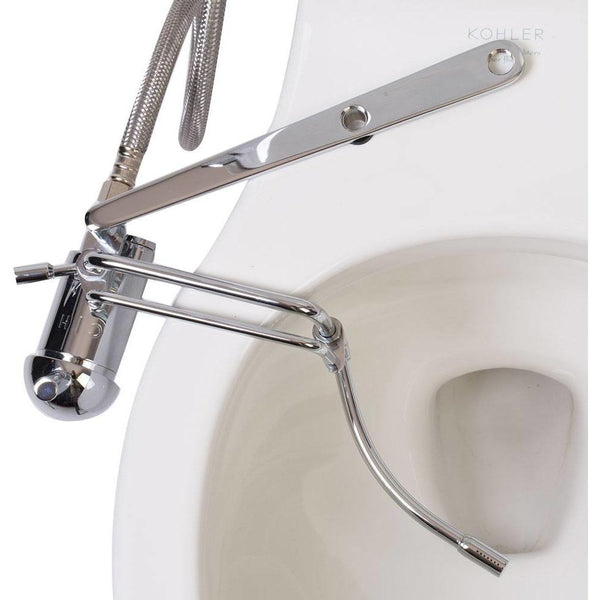 GoBidet Bidet Toilet Seat Attachment Hot and Cold GB-2003C - BathVault