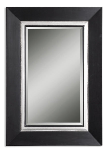 Uttermost Whitmore Black Vanity Mirror 14153 B - BathVault