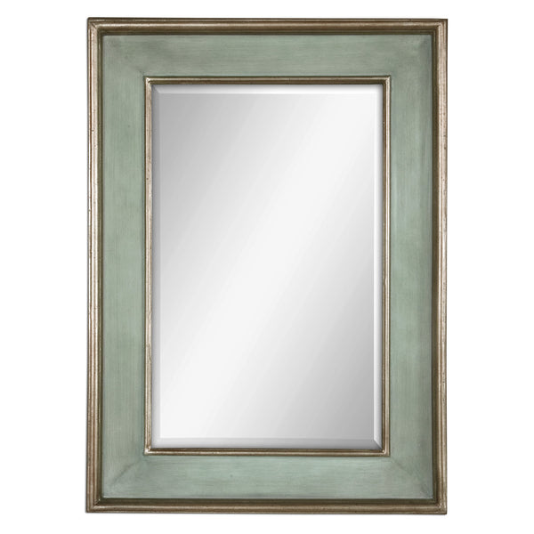 Uttermost Ogden Antique Light Blue Mirror 12640 B - BathVault