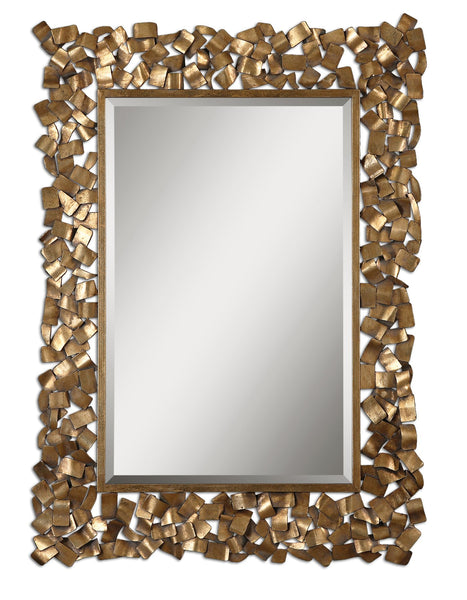 Uttermost Capulin Antique Gold Mirror 12816 - BathVault