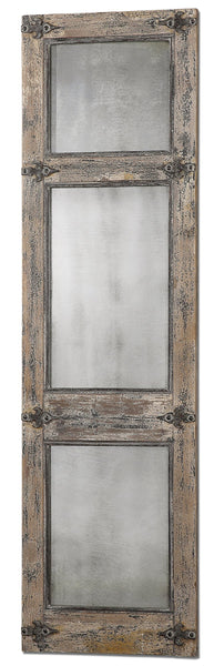 Uttermost Saragano Distressed Leaner Mirror 13835 - BathVault