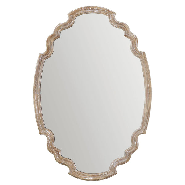 Uttermost Ludovica Aged Wood Mirror 14483 - BathVault