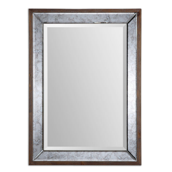Uttermost Daria Antique Framed Mirror 14487 - BathVault
