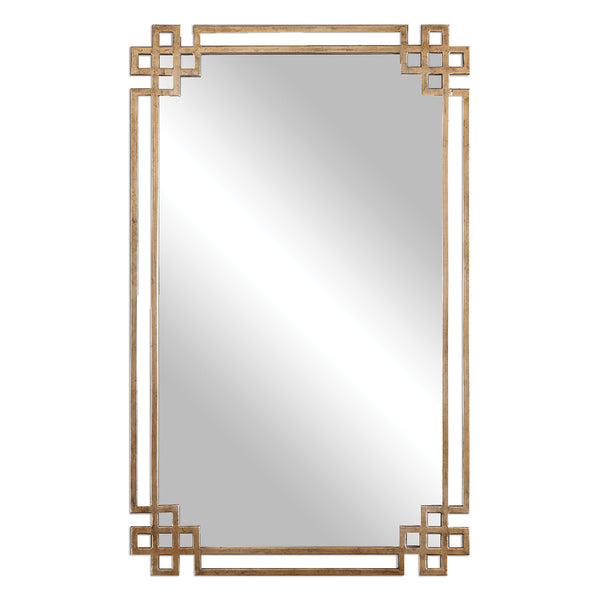 Uttermost Devoll Antique Gold Mirror 12930 - BathVault