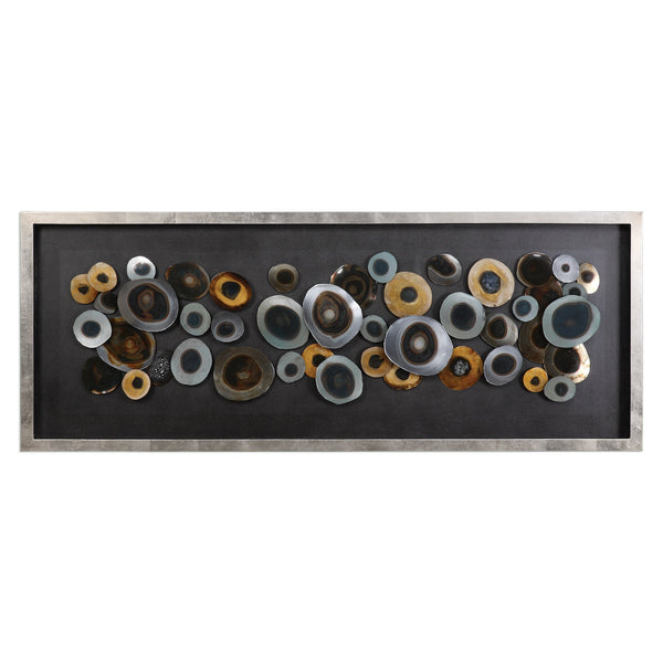 Uttermost Discs Silver Shadow Box 04058 - BathVault
