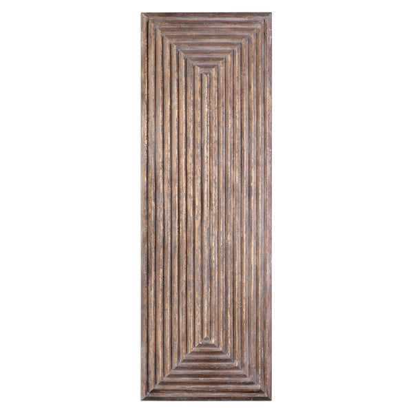 Uttermost Lokono Oxidized Gold Tiered Panel 04060 - BathVault