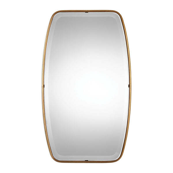 Uttermost Canillo Antiqued Gold Mirror 09145 - BathVault
