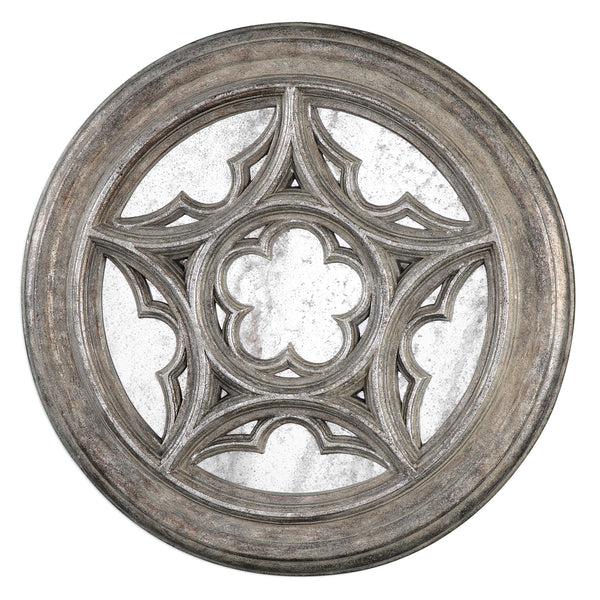 Uttermost Marwin Round Window Mirror 04097 - BathVault