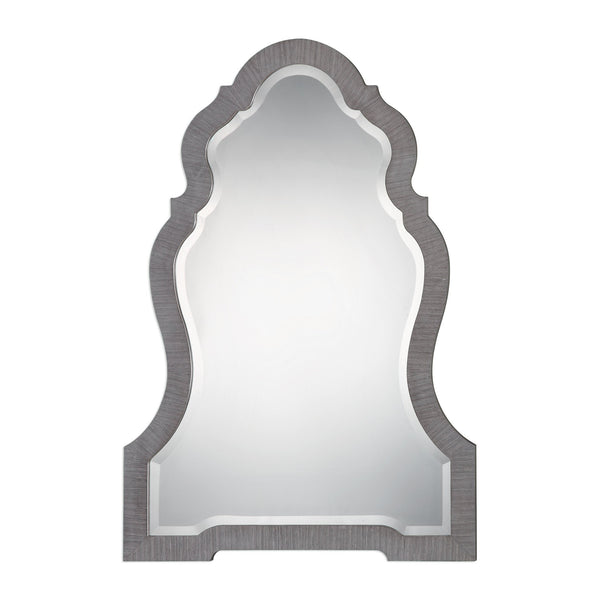 Uttermost Carroll Aged Gray Arch Mirror 09232 - BathVault
