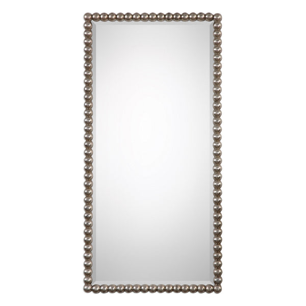 Uttermost Serna Antiqued Silver Mirror 09231 - BathVault