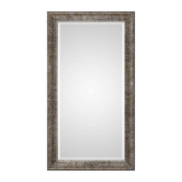 Uttermost Newlyn Burnished Silver Mirror 09365 - BathVault