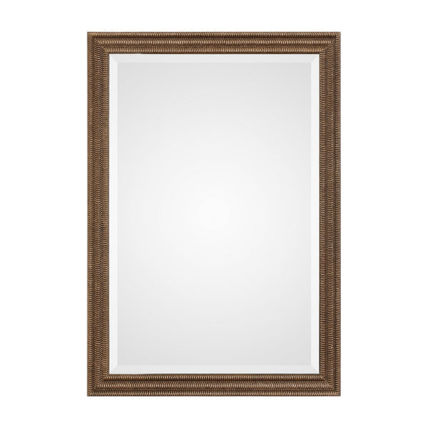 Uttermost Rydal Distressed Bronze Mirror 09358 - BathVault