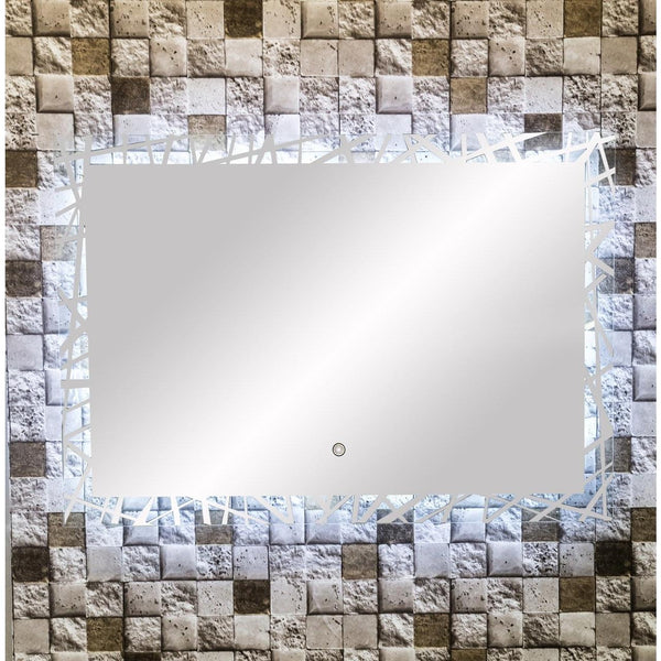 MTD Vanities Vadara Illuminated Vanity Mirror DL48 - BathVault