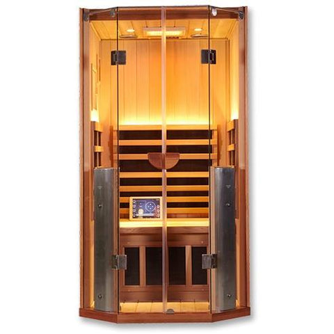1 Person Clearlight Full Spectrum Infrared Sauna Sanctuary 1-FS - BathVault