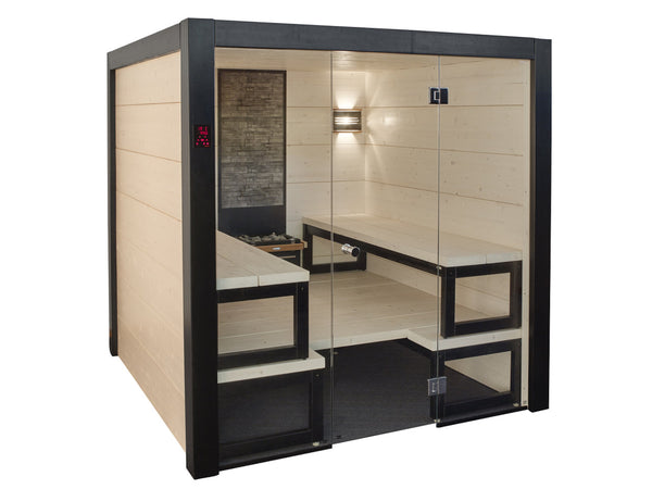 Almost Heaven Saunas Solide Indoor Sauna with Virta Heater - BathVault