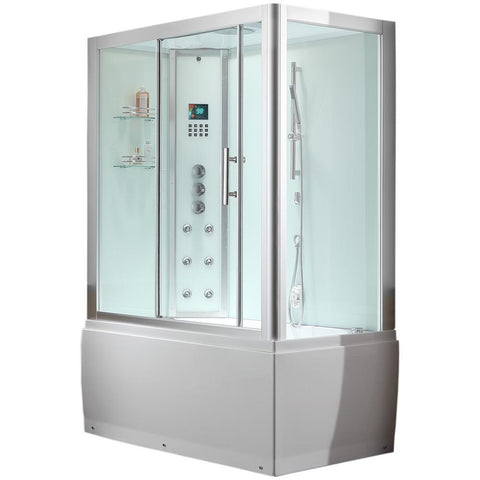 Ariel Platinum DA328-1F8 Steam Shower - BathVault