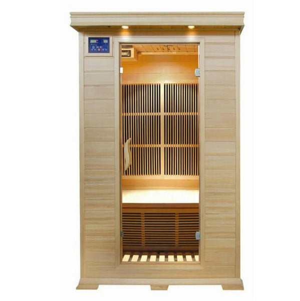 Sunray 2 Person HL200C Evansport Infrared Sauna - BathVault