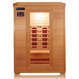 Sunray 2 Person HL200B Kensington Infrared Sauna - BathVault