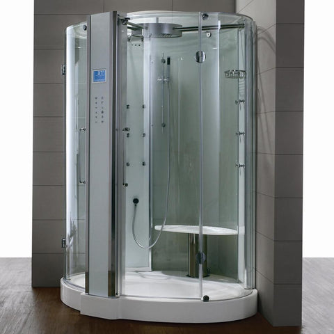 "Athena WS-122 Steam Shower 59""L x 59""W x 89""H - BathVault"