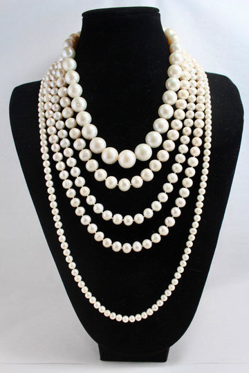 Custom-length pearl strands