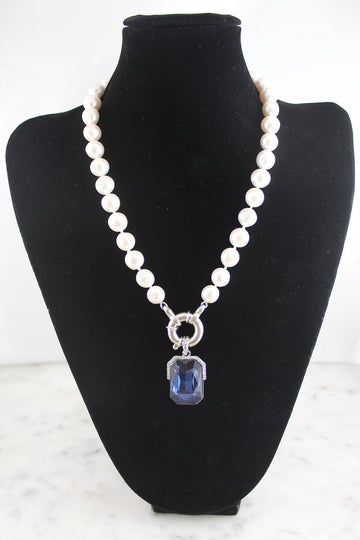 Classic 'Princess' length strand of pearls