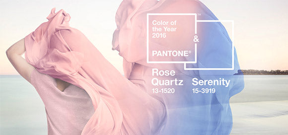 Pantone Rose Quartz and Serenity Color Image