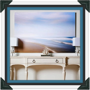 The Sea and Serenity Canvas Art
