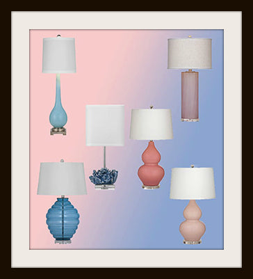 Bassett Mirror Table Lamps