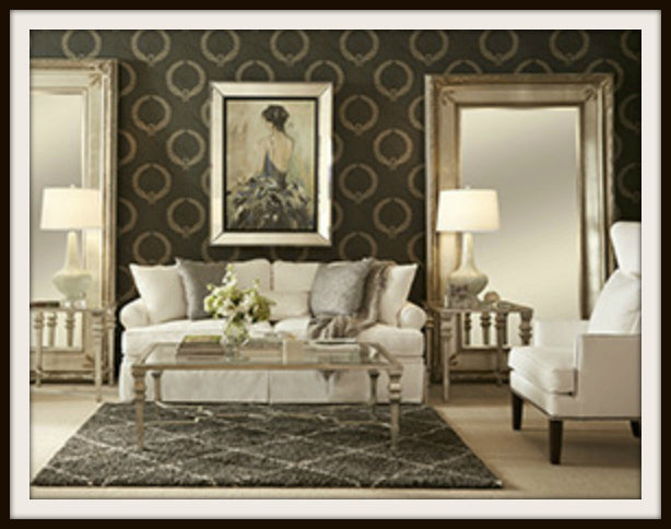 Bassett Mirror Company's Silvia Living Room Collection