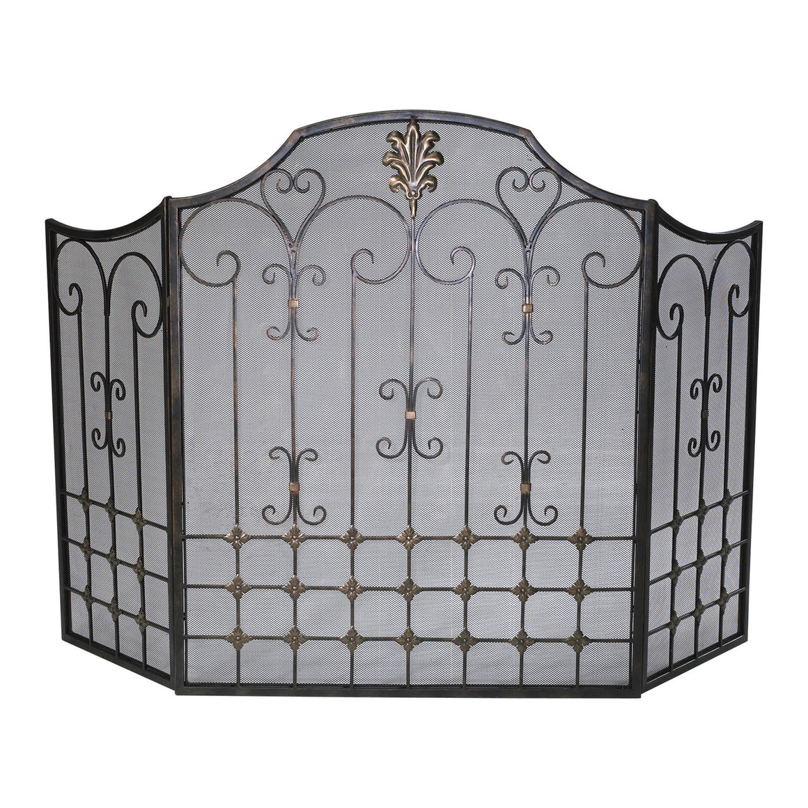 Bronze Fire Screen 01349 by Cyan Design