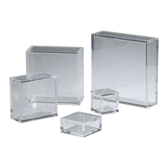 8x8 Square Acrylic Pedestal 01834 by Cyan Design
