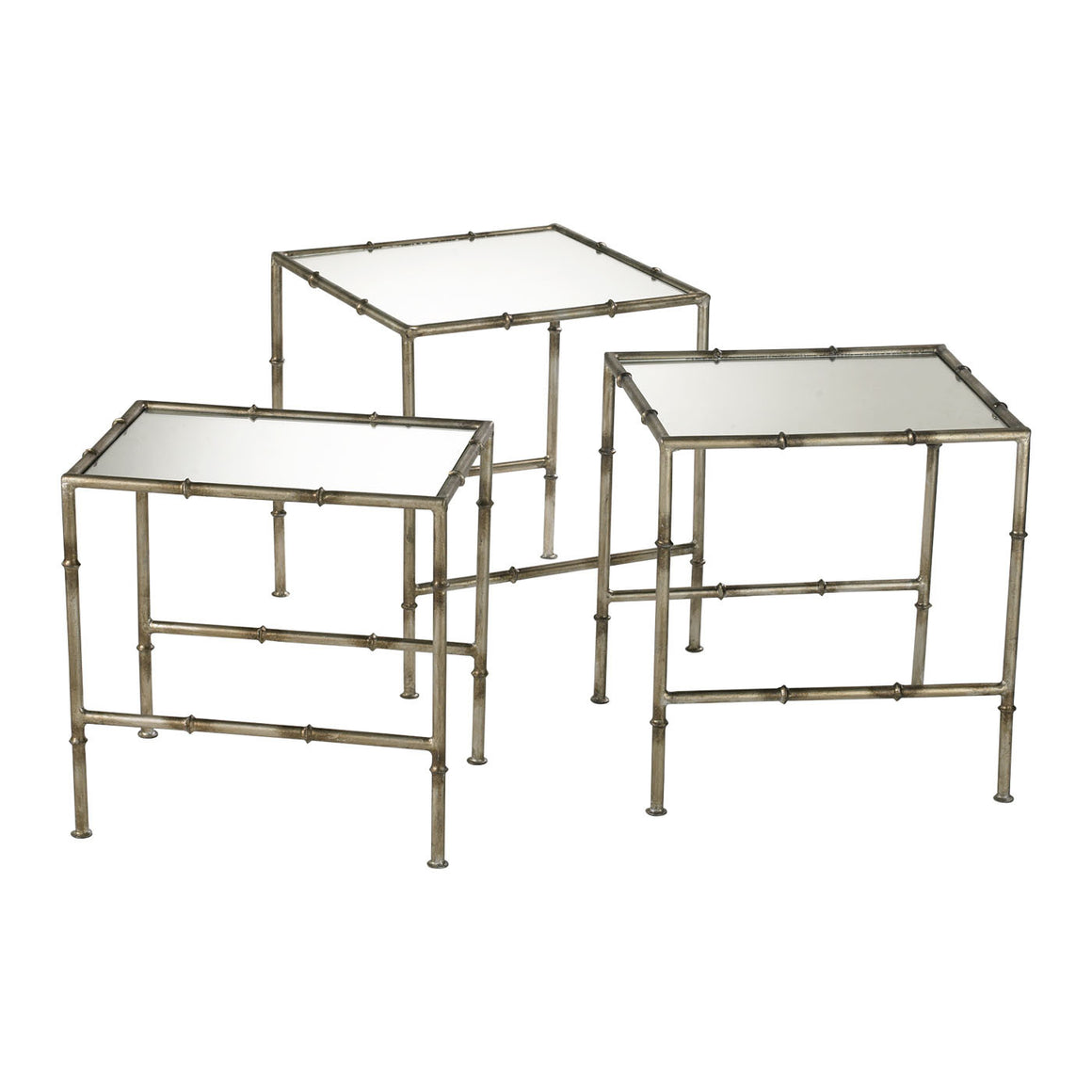 Bamboo Nesting Tables 03068 by Cyan Design