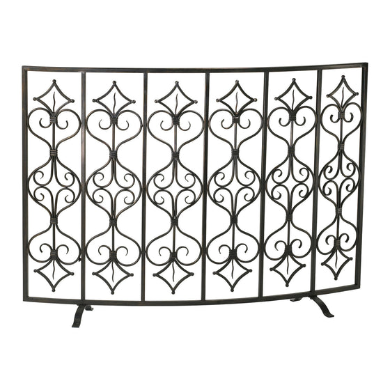 Casablanca Fire Screen 04007 by Cyan Design