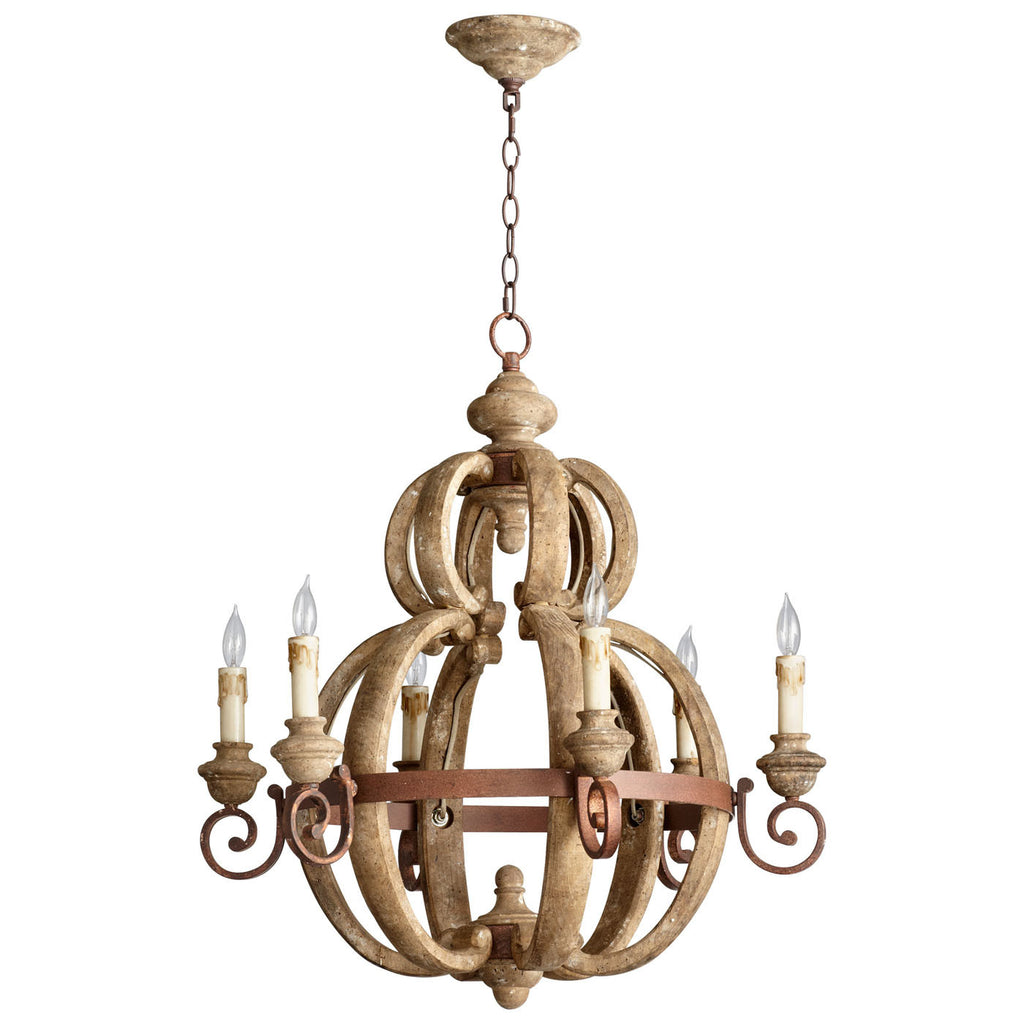 Atocha Six Light Chandelier 05148 by Cyan Design