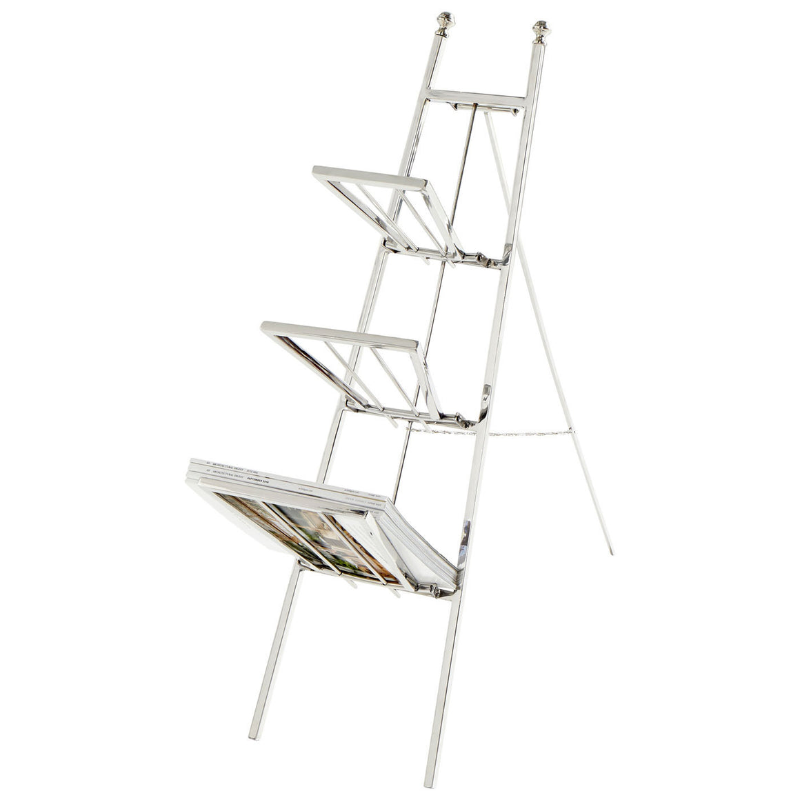 Easel Magazine Rack 08976 by Cyan Design